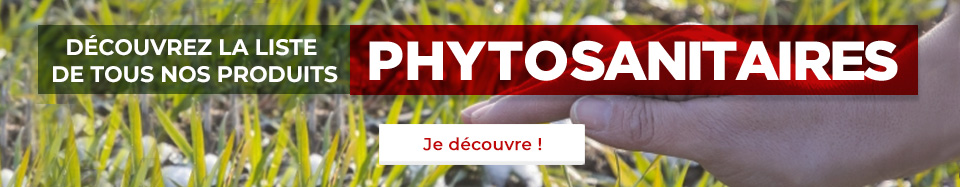 Découvrez la liste de tous nos produits phytosanitaires