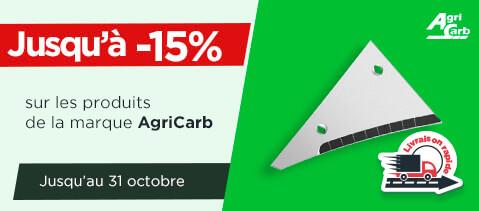 Jusqu à -15% sur la marque AgriCarb