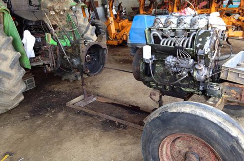 Système embrayage tracteur