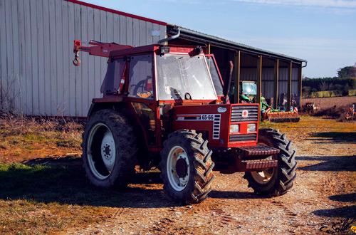 Tracteur ancien Fiat