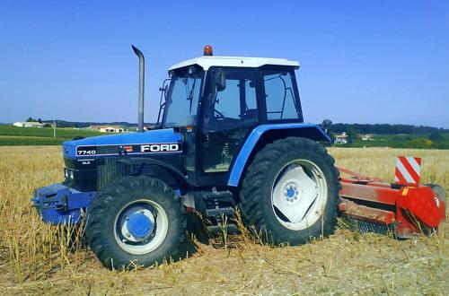Tracteur ancien Ford