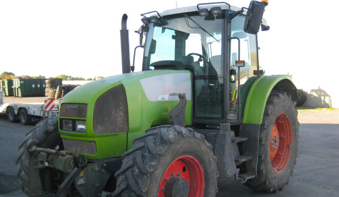 Tracteur Claas Ares