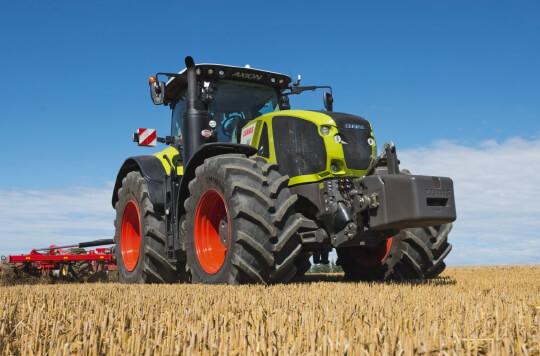 Tracteur Claas Axion 900