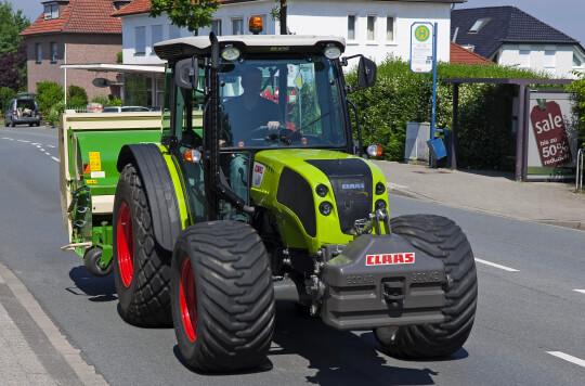 Tracteur Claas Elios