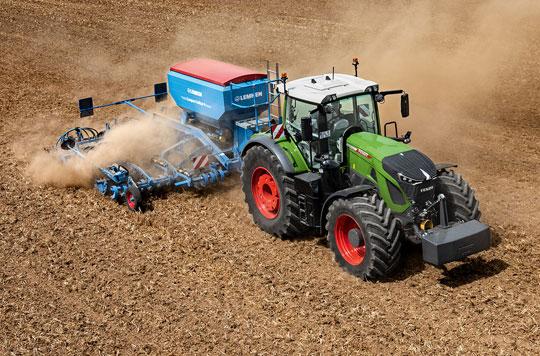 Tracteur Fendt 900