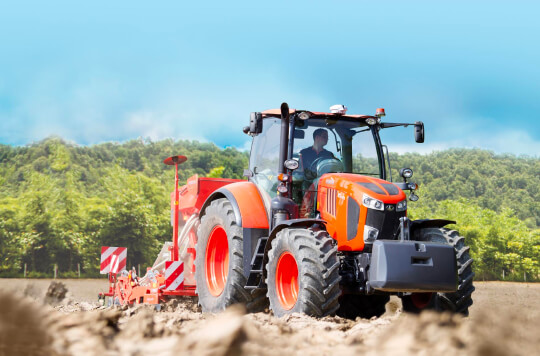 Tracteur Kubota M7002
