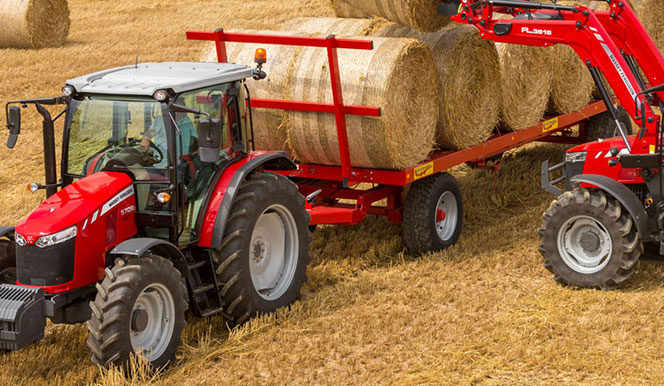 Tracteurs agricoles Massey Ferguson