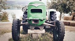 Tracteur ancien