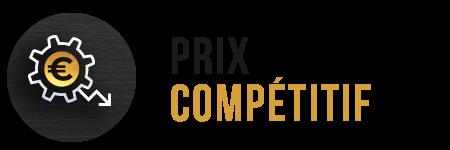 Prix compétitif