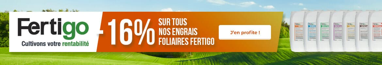 -16% sur tous nos engrais foliaires FERTIGO PRO