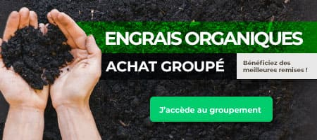 Engrais Organiques : Achat groupé Bénéficiez des meilleures remises