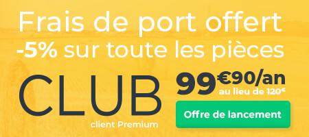 Découvrez le CLUB client premium